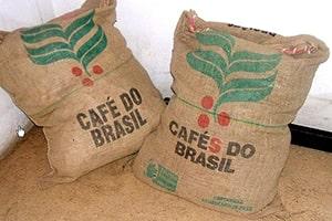 Les sacs de café exportés à travers le monde