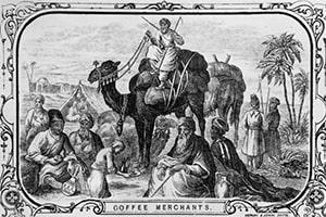 Marchands de café Yéménites